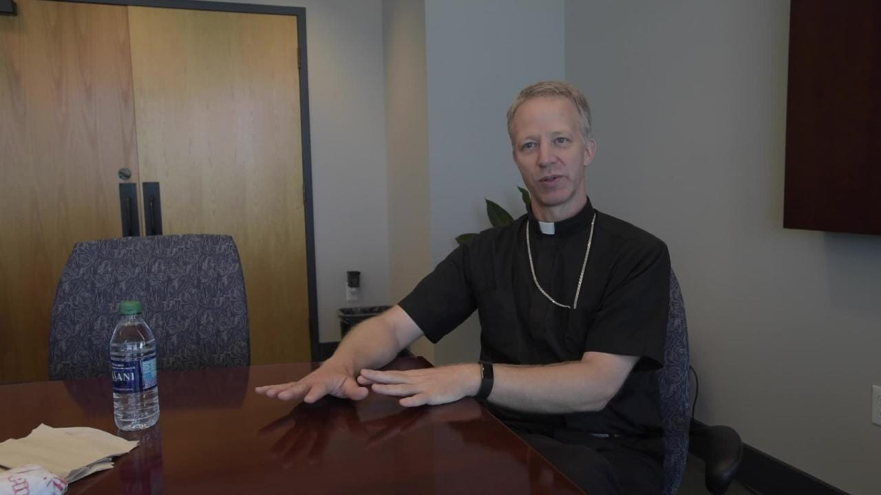 New Bishop-elect describes the moment he learned appointment to the Pensacola Tallahassee Diocese.