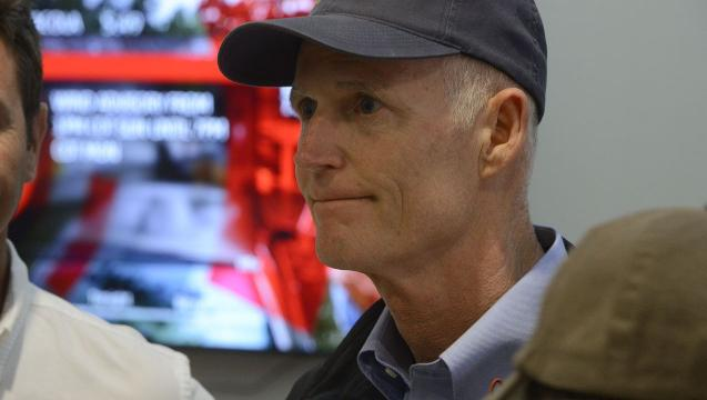 Gov. Rick Scott gives Hurricane Irma update from Pensacola
