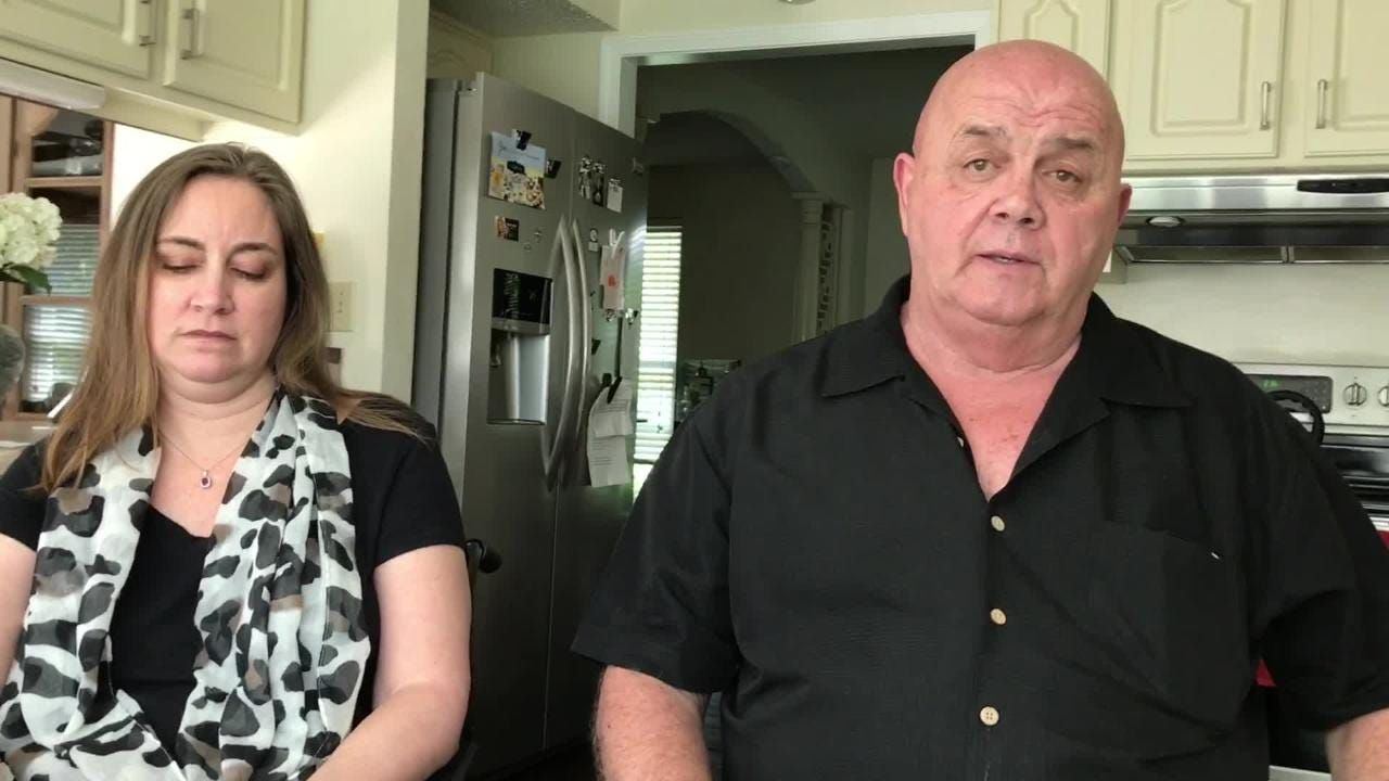 David Hammond came to the rescue when his friend and tenant Stephanie Wright was trapped in a fire in her home.