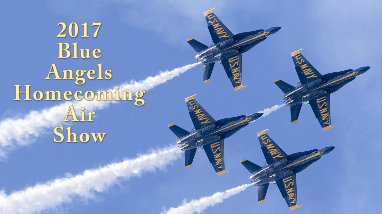 WATCH: Blue Angels Homecoming Air Show highlights