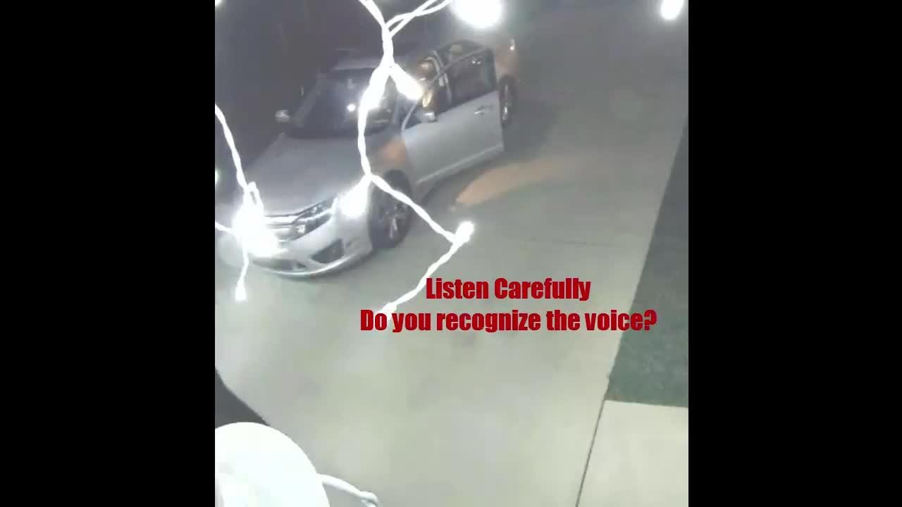 The Santa Rosa County Sheriff's Office is looking for the silver vehicle captured in this video in connection with a Navarre crime spree over the weekend. (Courtesy: SRSO's Facebook page)