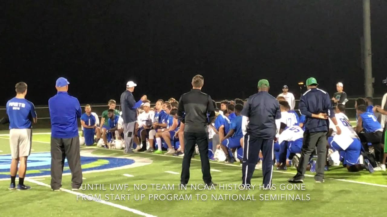 In short time, Pete Shinnick has made UWF football a national success.