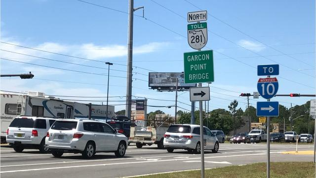 State Representative Jayer Williamson and state Senator Doug Broxson are looking for legislation that would allow the Florida Department of Transportation to negotiate with owners of Garcon Point Bridge for the state to take charge of the bridge. (Anne Delaney\adelaney@pnj.com)