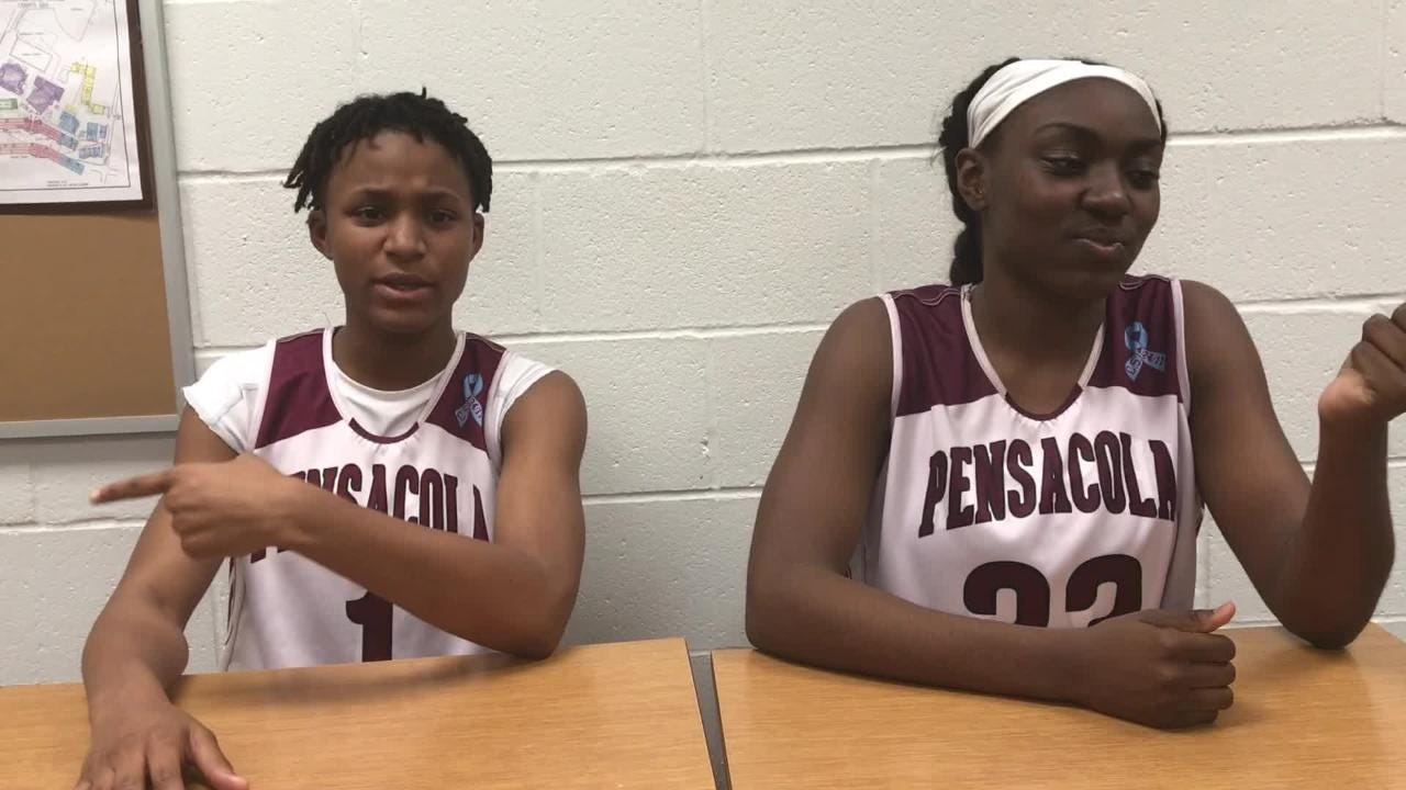 Malainna White and Autumn Goram became a part of PHS' program in far different ways, but both seniors are key elements of the area-leading team.