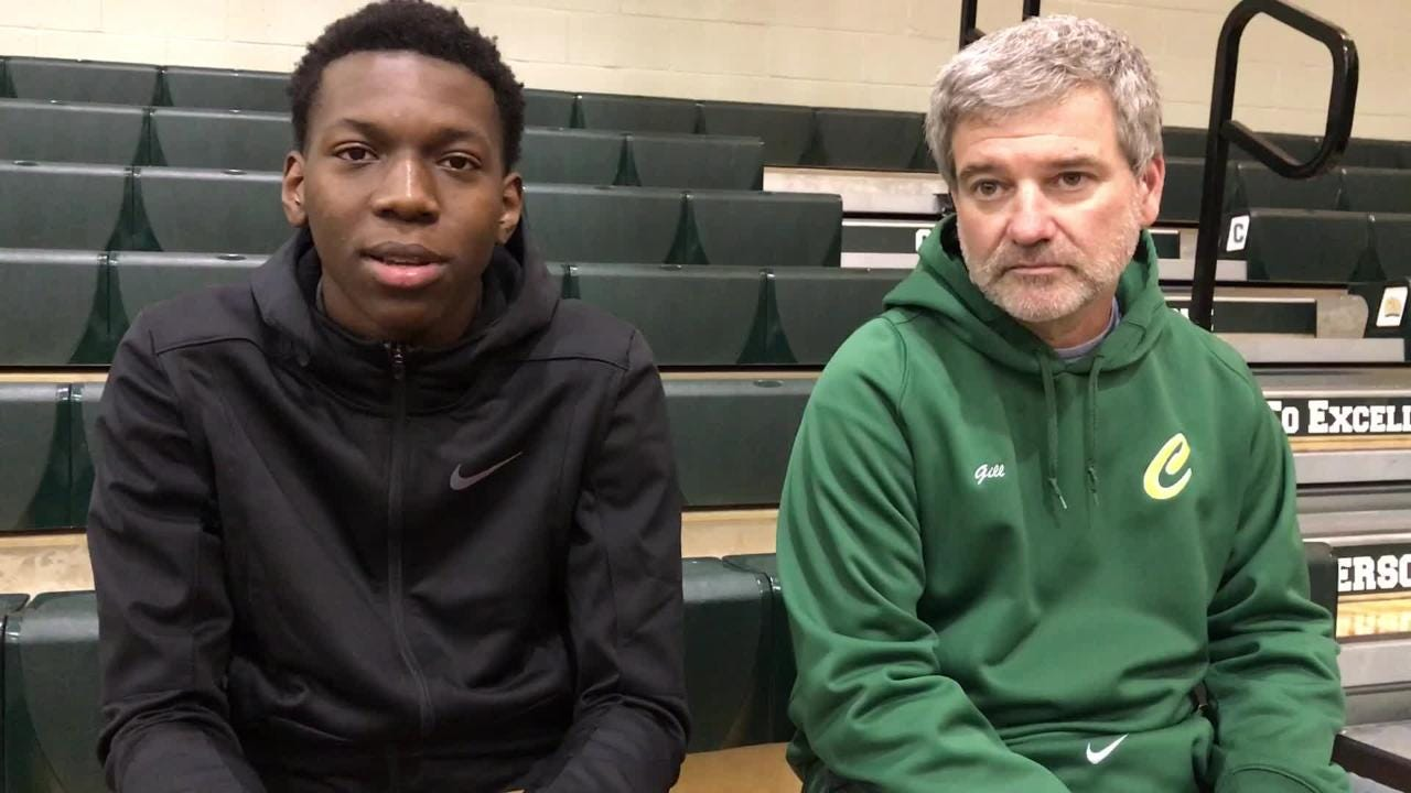 In three years of varsity play, DJ McKenzie has transformed from the new kid to Catholic's leader. His 14.2 ppg and 3 spg have helped Catholic to an undefeated start.