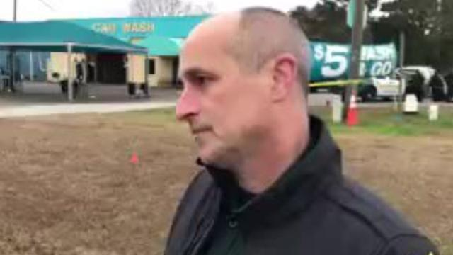 ECSO Chief Deputy Chip Simmons gives update on hotel standoff
