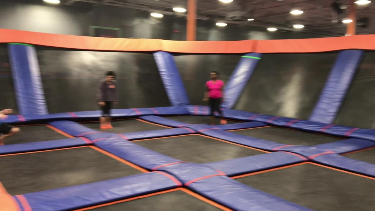 Sky Zone trampoline park offers Saturday morning Sky Fit exercise programs.