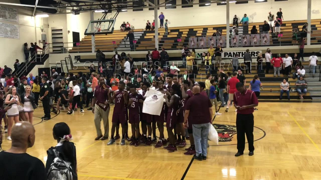 WATCH: PHS boys top Milton for District 1-7A title