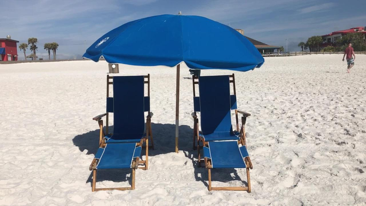 Lazy Days Beach Rentals requests to add more chairs to beach