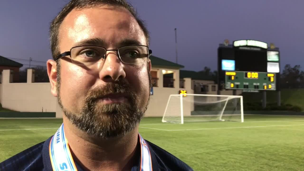 Highlights and reaction from head coach Ryan Williams after a thrilling match in DeLand as Gulf Breeze was denied its first state championship since 2001.