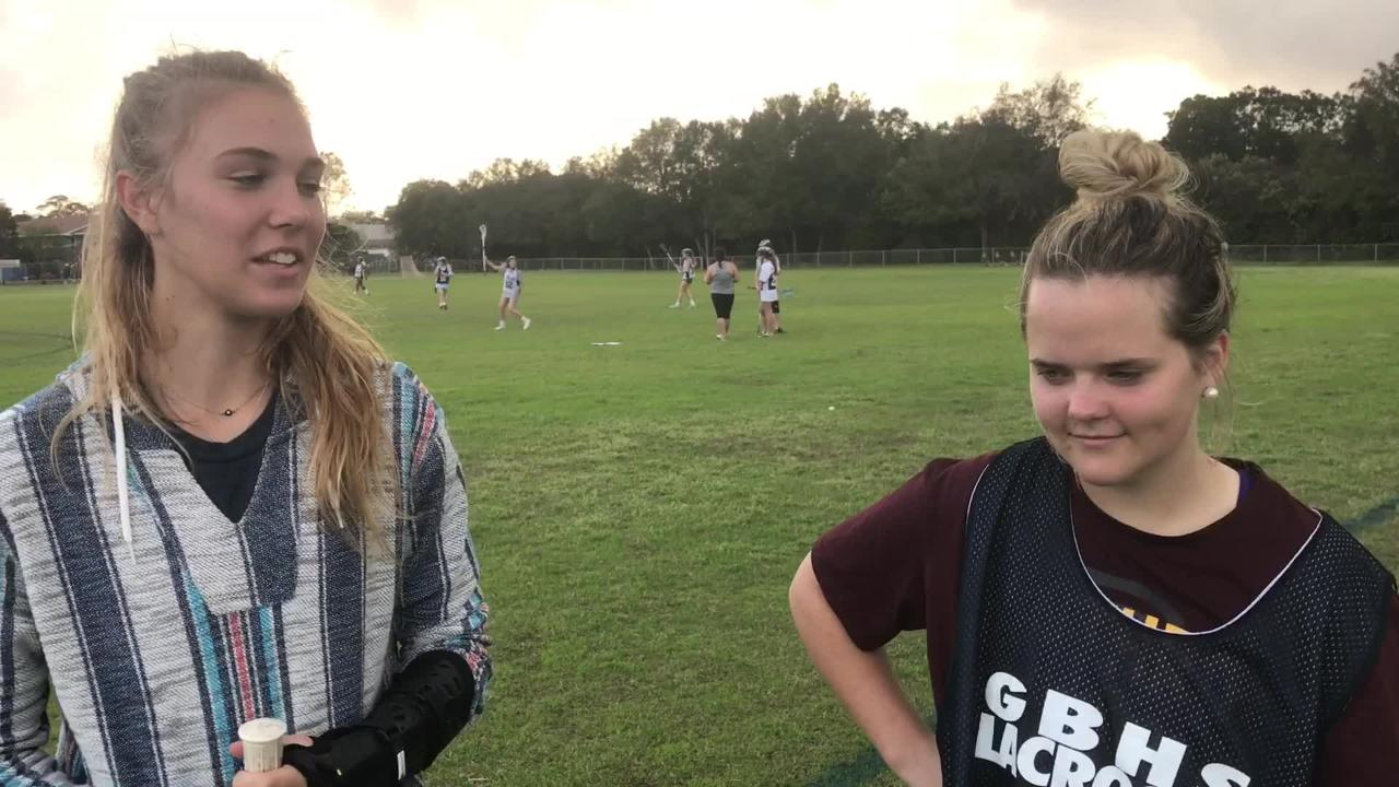 Gulf Breeze junior KateReagan Costello is Gulf Breeze's all time leading scorer with 138 goals.