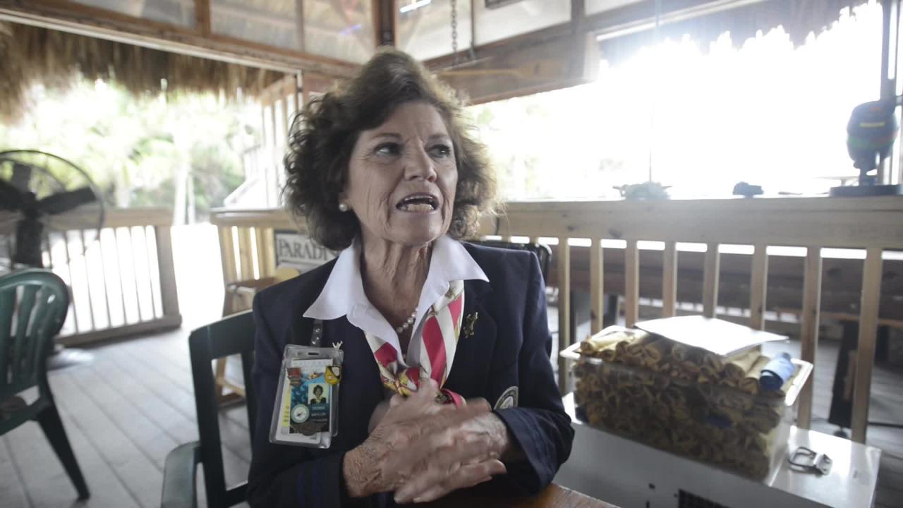 """""""Delta Debbie"""" Naylor talks about her experience as a longtime flight attendant and as a volunteer at the National Naval Aviation Museum in Pensacola."""