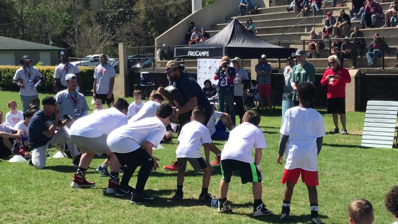 Catholic High grad Josh Sitton inspires, coaches area youth at his annual Josh Sitton Pro Camp event