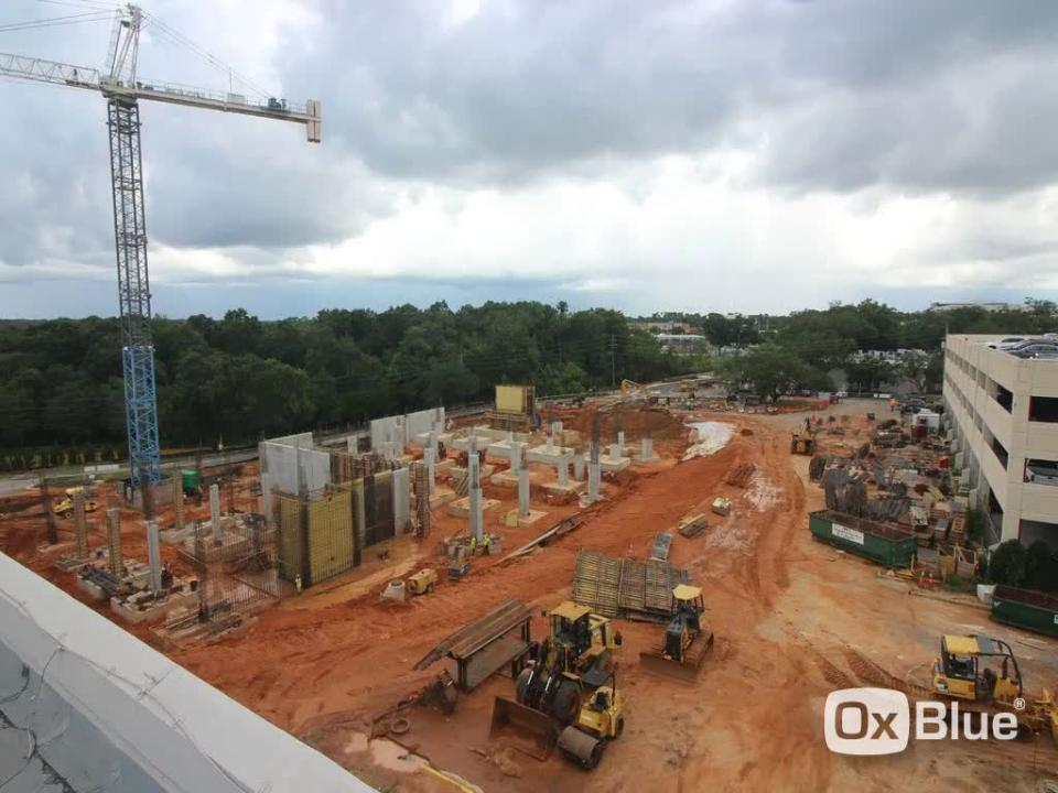 A time lapse video shows the construction of the new Studer Family Children's Hospital at Sacred Heart over the last year. (Sacred Heart Hospital)