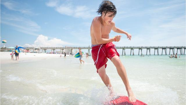 Head over to on.pnj.com/floridabeaches to vote for your favorite Florida beach.