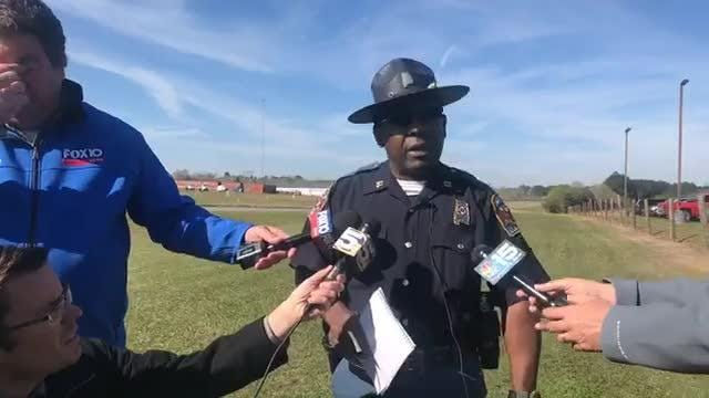 Alabama Law Enforcement Agency holds press conference about bus crash