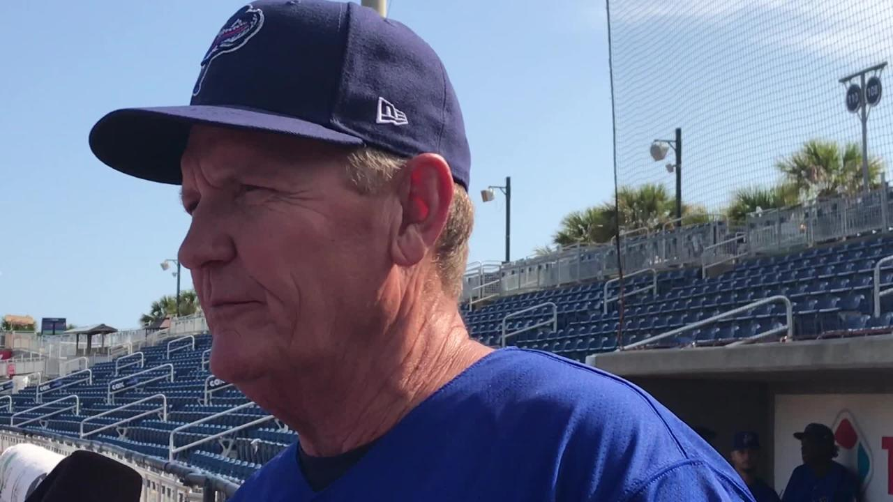 Blue Wahoos first year manager Jody Davis will strive for consistency.