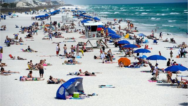 The 2018 beach season is already booming in Pensacola