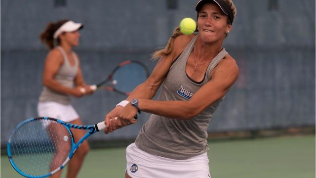 UWF women's tennis has seen some glorious heights in recent years, though never rising to a national ranking as high as this one.