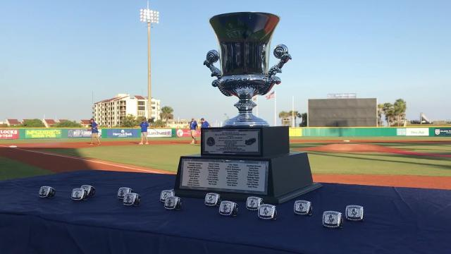 The champions opened the 2018 baseball season by the bay with banners, diamond rings and celebrations after the Blue Wahoos won the 2017 Southern League title.