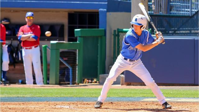 It wasn't long ago that Matthew Estrada was hitting clutch postseason home runs for Pensacola Catholic. Now he's a regular contributor for the No. 23 UWF baseball team as it hits the home stretch in the race for a conference title.