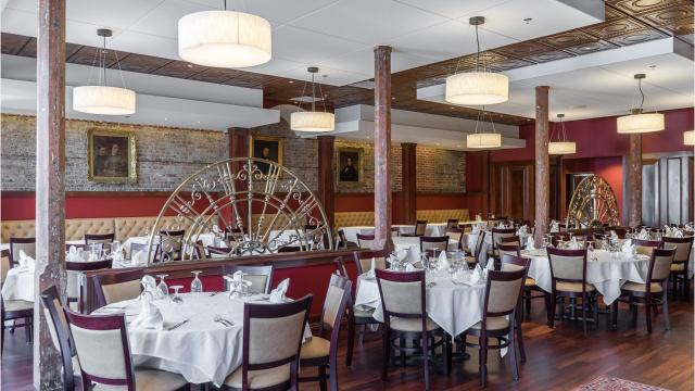 The District steak and seafood restaurant opens Thursday.