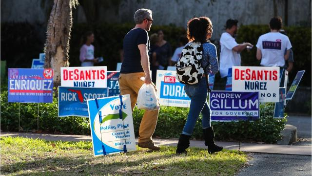 Both Escambia and Santa Rosa counties had huge voter turnout during the 2018 midterm elections.