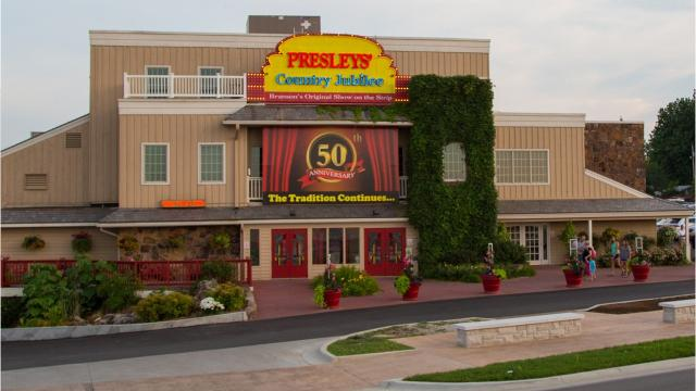 Founded in 1967 by a quartet of married couples including Lloyd and Bessie Mae Presley, the family's country music show was the first on the Highway 76 strip in Branson, Mo., which now counts dozens of touristy theaters.