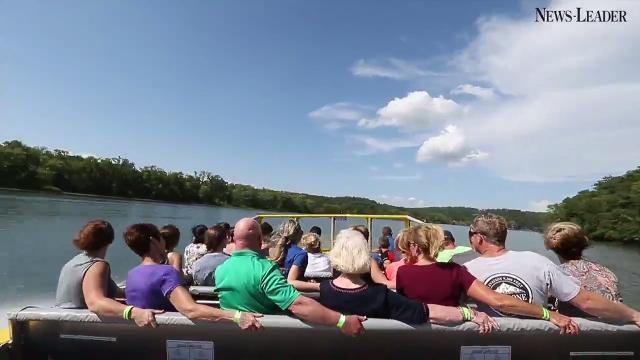Gregslist boards the new Branson Jet Boat for a thrilling tour down Lake Taneycomo.