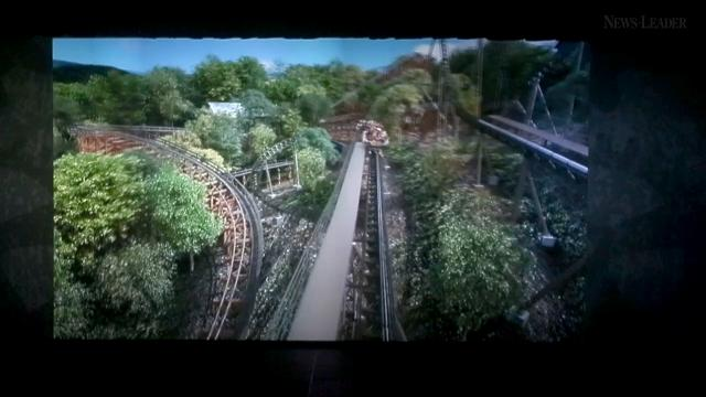 Silver Dollar City revealed Time Traveler, their newest roller coaster on Wednesday, Aug. 16, 2017.