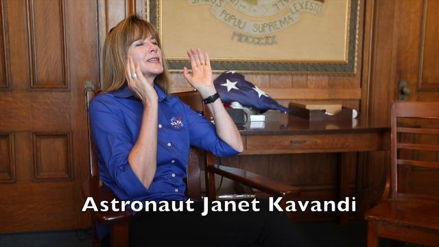 Scenes from the solar eclipse on Aug. 21, 2017, in Jefferson City and a talk with astronaut and Springfield native Janet Kavandi.