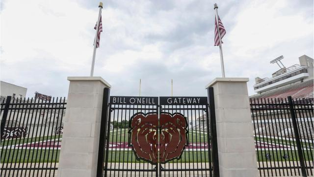 Officials say they have no plans to change Missouri State's primary bear head logo.