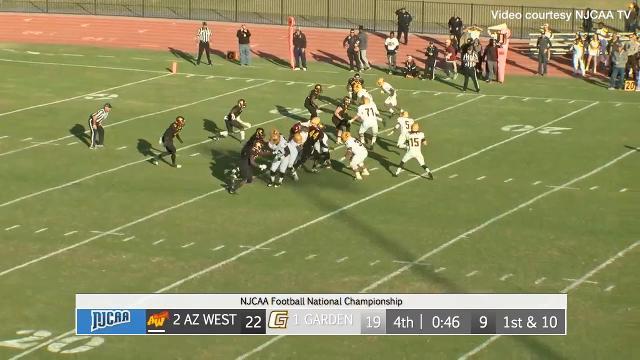 New Missouri State starting quarterback Peyton Huslig led Garden City Community College down the field to win the 2016 NJCAA National Championship. Video courtesy of NJCAA TV