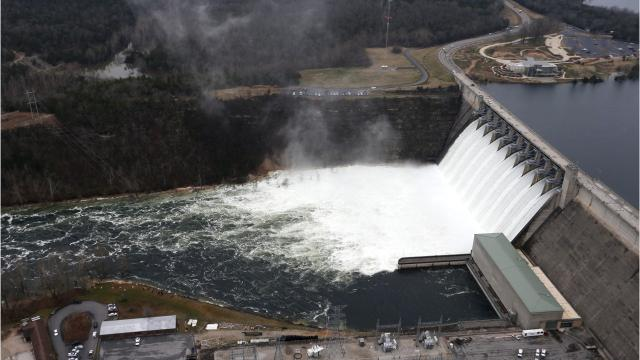 A brief history of Table Rock Lake and dam.