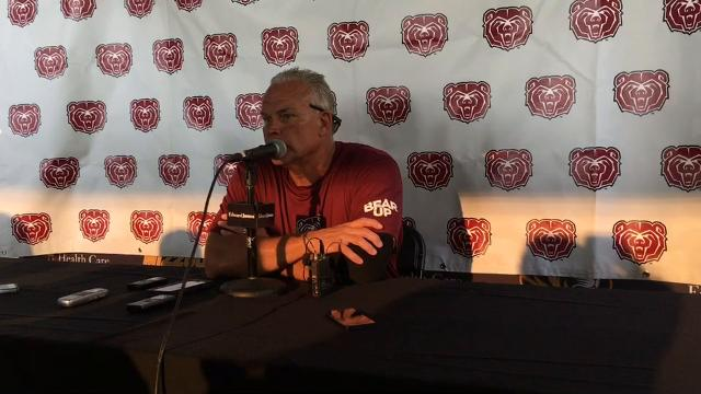 MSU head coach Dave Steckel's post game press conference after the Bears loss to Mizzou.