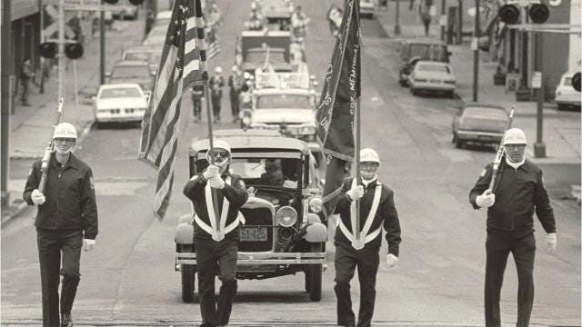 Historical photos from the Springfield Veterans Day Parade