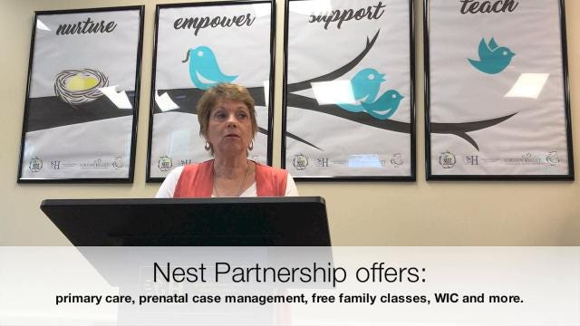 The Nest Partnership is a new health clinic in west Springfield. It is a partnership of the Springfield-Greene County Health Department and Jordan Valley Community Health Center.