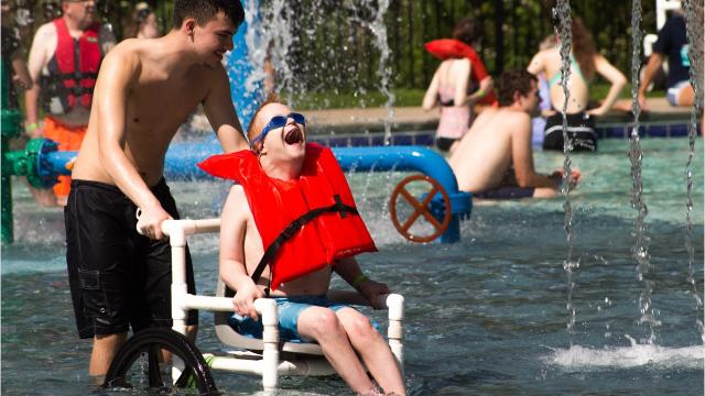 Camp Barnabas is a faith-based camp for people with special needs and chronic illnesses.