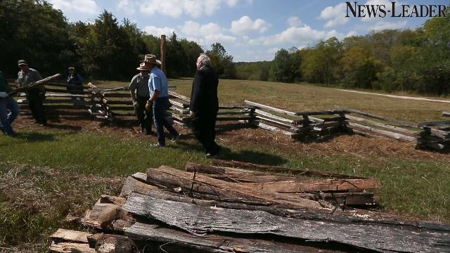 U.S. Interior Secretary Ryan Zinke toured Wilson's Creek National Battlefield on Thursday, Sept. 21, 2017.