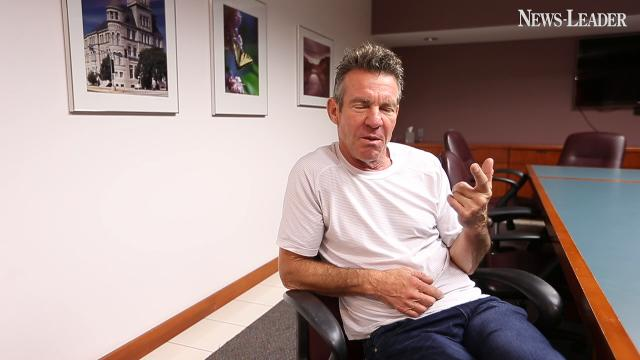 The News-Leader caught up with Dennis Quaid before his upcoming show in Branson with his band, the Sharks.