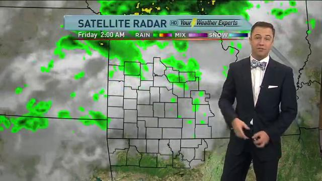 Morning forecast for Friday, Oct. 6