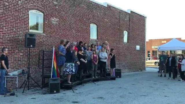 Vigil held at the Springfield GLO Center honors Ally Steinfeld
