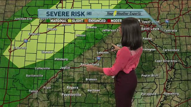 Morning forecast for Friday, Oct. 13
