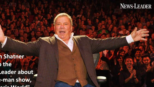 William Shatner's phone interview with the News-Leader about his one-man show coming to Branson.