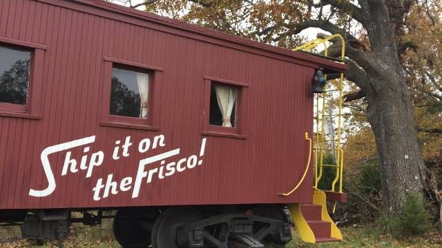 A reader wants to know the story behind the caboose up on the hill. The answer might involve Willie Nelson.