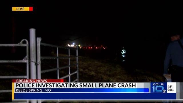Aircraft crash near Reeds Spring