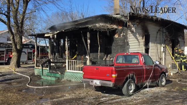 A Bolivar fire kills two people; firefighters' efforts were hampered by frozen gear.