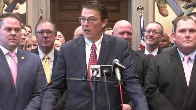 Missouri's House leaders in the Republican and Democratic parties outline their vision for the 2018 session, which began Wednesday.