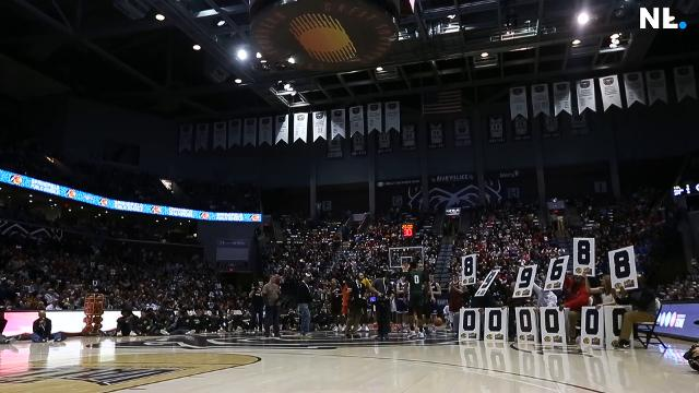 The Bass Pro Shops Tournament of Champions held a dunk contest featuring some of the best high school basketball players from the area and around the country.