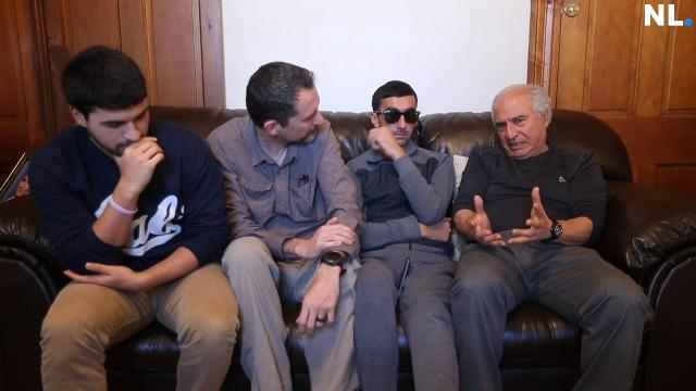 After being wounded by ISIS in Iraq, Yazidi refugee Yousif Khalaf Shaheen is in Springfield to repair his damaged eye.